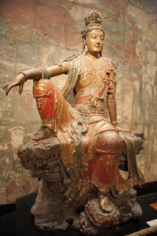 Seated Guanyin Bodhisattva – Religious Studies, UC Santa Barbara
